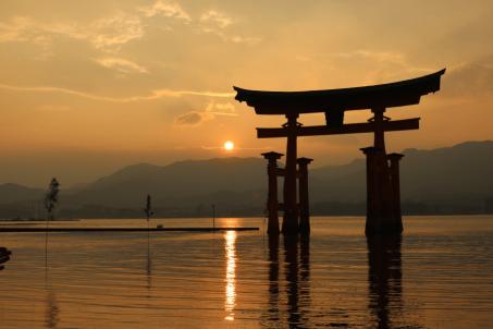 日本,久違的昇陽